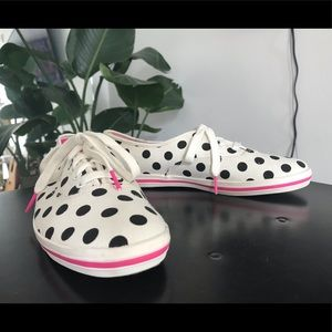 Kate Spade x Keds Kick Polka Dot Sneakers